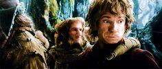 Bilbo and his face wiggle<--- I love Bilbo's face wiggle