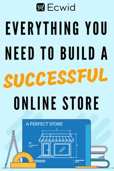 Ecwid E-commerce Business Blueprint: Build Your Successful Online Store Starting A Business, Business Planning, Business Tips, Online Business, E Commerce Business, Business Marketing, Content Marketing, Affiliate Marketing, Online Marketing