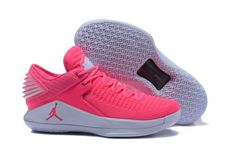 7ba696710345 Air Jordan 32 Low Pink White Basketball Shoe For Sale Big Boys  Youth Jeunesse Shoes