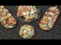 прозрачная эпоксидная смола и камни