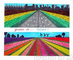 Tekenen en zo: Groeten uit ... Holland!