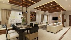 You would surely like to include all your favorites to your home and feel comfor. by Chand Design Interior Work, Best Interior Design, Living Room Interior, Commercial Interior Design, Commercial Interiors, Apartment Design, Living Room Designs, New Homes, House Design