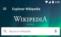"""Wikipedia para Android renueva su pantalla principal   La aplicación oficial de la Wikipedia ya no se limitará a destacar un único contenido en su página de inicio su sección """"Hoy"""" se renueva por completo para dar la bienvenida a Explorar Wikipedia.  Explorar Wikipedia es la nueva página principal de la aplicación en la cual veremos contenido personalizado dinámico con temas de actualizada artículos de tendencias sugerencias de lectura la imagen del día y mucho más. Todo esto bajo una…"""