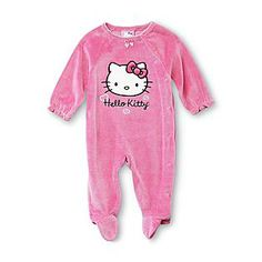 Sanrio One-Pieces (Newborn - for Girls Hello Kitty Baby, Hello Kitty Items, Here Kitty Kitty, Baby Girl Pajamas, Hello Kitty Collection, Girls Fleece, Baby Kids, Toddler Girls, Infant