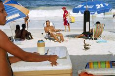 Martin Parr BRAZIL. Rio de Janeiro. Copacabana Beach. 2007.