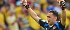 David Ospina quedó a dos minutos del récord de Higuita - El Colombiano
