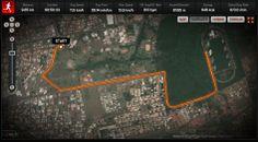 Corrida das Águas 23-03-04  Bati neste dia meu recorde fazendo os 10k em 50 mim.