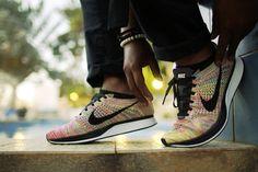 buy popular 4b476 7586f Nike Flyknit Racer  Multicolor 3.0  (by Tena Izy... – Sweetsoles
