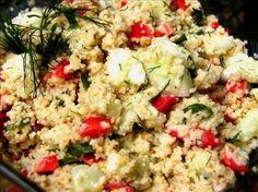 Couscous Cucumber Salad Recipe