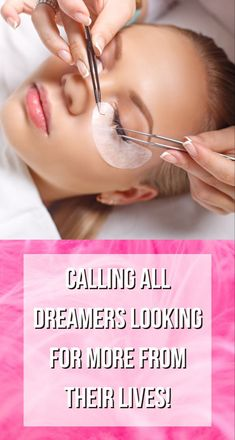 Calling all dreamers looking for MORE from their lives! ⭐MORE control over their schedule. ⭐MORE working hard on their own terms ⭐MORE ability to pay off debt. ⭐MORE time spent with family… or taking spur-of-the-moment ⭐vacation! Beauty Lash, Beauty Skin, Beauty Makeup, Types Of Women, Hey Girl, Lash Extensions, All Things Beauty, Cosmetology, Blog Tips