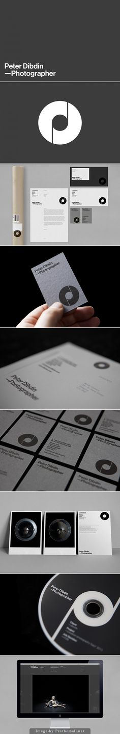 Peter Dibdin personal branding. Design by ostreet - created via http://pinthemall.net