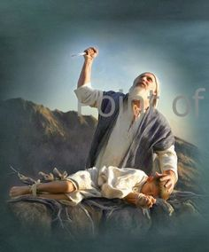 """Could You Survive The Test Of Loving God ? heart emoticon After these things God tested Abraham, and said to him, """"Abraham!"""" And he said, """"Here am I."""" He said, """"Take your son, your only son Isaac, whom you love, and go to the land of Mori'ah, and offer him there as a burnt offering upon one of the mountains of which I shall tell you."""" Genesis 22:1,2 RSV"""