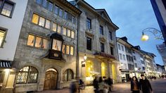 Winterthur - Beautiful old town where Grandma was born. Lucerne, European Countries, Zurich, Hiking Trails, Alps, Old Town, Switzerland, Wander, Mansions