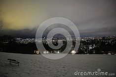 Photo about Vienna at night, in district Image of city, evenings, winter - 137259741 District 13, Vienna, Celestial, Night, City, Winter, Image, Winter Time, Cities