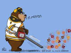 Bruins blew away those leafs for a spot in round two! And an AMAAAAZING come back! Boston Bruins Hockey, Nhl, New England, Illustration, Fictional Characters, Hockey Stuff, October 20, Sketchbooks, Thursday