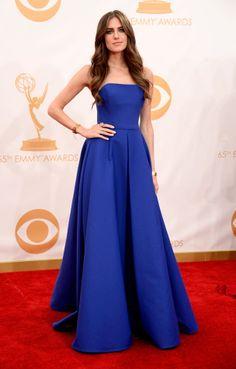 Allison Williams en Ralph Lauren Le tapis rouge des Emmy Awards 2013   Glamour