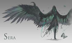 Monster Concept Art, Fantasy Monster, Monster Art, Dark Creatures, Mythical Creatures Art, Fantasy Creatures, Fantasy Character Design, Character Design Inspiration, Character Art