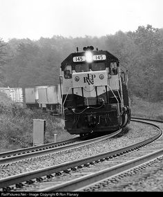 RailPictures.Net Photo: RFP 145 Richmond, Fredericksburg & Potomac EMD GP40 at Brooke, Virginia by Ron Flanary