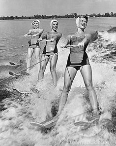 vintage waterski image