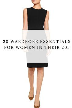 Incognito Muse - 20 Wardrobe Essentials Every Woman in their 20s Should Own - Incognito Muse