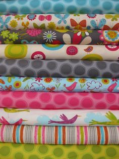 I just bought this fabric for making baby things... like a wrap I'm starting soon!