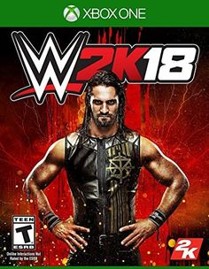 Video game cover star is a big deal and the WWE cover star announcement is no different. Today, have announced that Seth Rollins will be the main man for WWE 2k Games, Xbox One Games, News Games, Video Games, Playstation Games, Board Games, Seth Rollins, Jeux Xbox One, Xbox 1