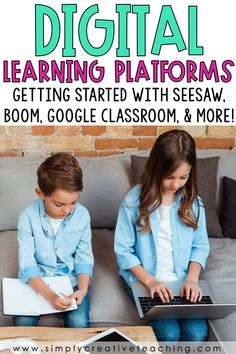 Learn how to make activities digital using Google Classroom, Google Slides, Seesaw,