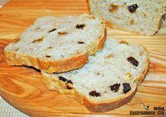 Receta de pan de molde con frutos secos