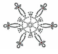 Crochet ideas that you'll love Crochet Snowflake Pattern, Crochet Stars, Christmas Crochet Patterns, Crochet Blocks, Crochet Snowflakes, Crochet Flower Patterns, Afghan Crochet Patterns, Thread Crochet, Crochet Motif