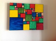 Original oil painting..Christmas...abstract geometric pattern..oil on canvas...gift...for him..for her...