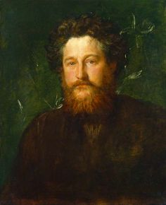 William Morris, by George Frederic Watts, 1870, National Portrait Gallery