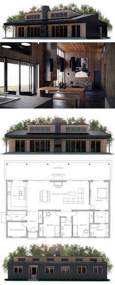 DENIA 150 m2 SISTEMA CONSTRUCTIVO HORMIGÓN CELULAR CON DOBLE PARED - plan maison architecte gratuit