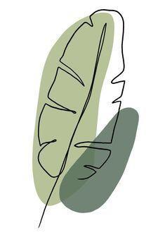 Art Abstrait Ligne, Minimal Art, Abstract Line Art, Abstract Drawings, Printable Art, Printable Stickers, Art Inspo, Watercolor Art, Watercolor Pattern