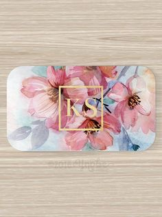 Floral Business Card Florist Flowers Vistaprint by YnobeDesigns