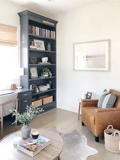 Contemporary Home Office Design Ideas. Thus, the need for residence offices.Whether you are intending on including a home office or renovating an old area right into one, below are some brilliant home office design ideas to aid you get started. Home Office Space, Home Office Design, Home Office Decor, Diy Home Decor, House Design, Office Ideas, Desk Ideas, Office Storage Ideas, Small Office Storage