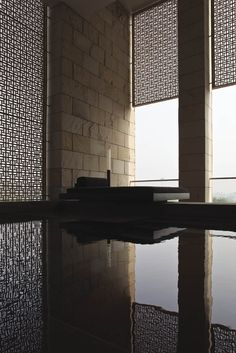 Aman New Delhi by Kerry Hill Architects.