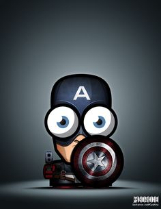 The Big Eyed Superheroes by Ahmad Kushha