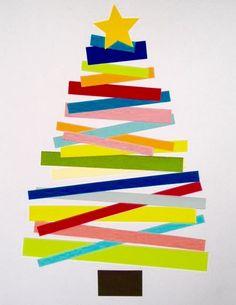 Xmas tree crafts for kids! Christmas Tree Crafts, Preschool Christmas, Christmas Activities, Christmas Projects, Winter Christmas, Holiday Crafts, Holiday Fun, Simple Christmas, Toddler Christmas