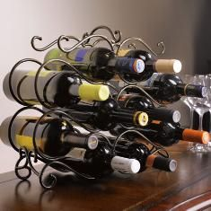 Princess House wine rack, bottles not included :(