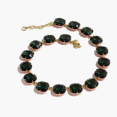 Enamel edge necklace