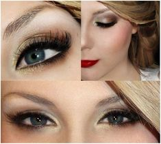 Taylor swift inspired easy eye makeup tutorial.