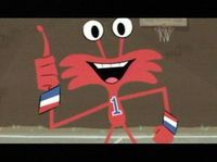 Wilt from Foster's Home for Imaginary Friends: This show came out in 2004 back when Cartoon Network still had all the great shows. This was one of my favorite shows to watch with my cousin (she introduced me to it). I still enjoy it but it's very rarely, re-watching my favorite episodes. I personally feel this is suited for any age. I even had someone's mom at Winco back in 2007 compliment my shirt (which had Bloo & Cheese on it) who said she enjoys watching it with her kids. ^.^ <3