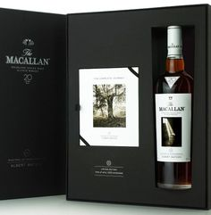 Limited Edition Macallan's Albert Watson Whisky spirit mxm