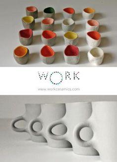 Stone cups: Xiaojie Zhu, Wood cups: Olav Slingerland