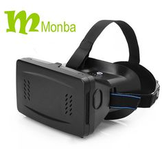 Monba VR Virtual Reality 3D Video Movie Game Glasses Helmet with Magnet  For 3.5~6 inch Smartphones Adjustable Pupillary Distance,For Party Halloween  Elastic Band, Large view window, Suitable for myopia people(Brand:Monba) Purchase Link:http://www.amazon.com/dp/B015K6D72G