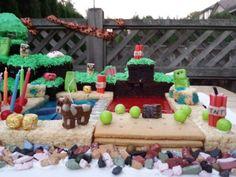 minecraft cake Minecraft Cake, Gingerbread, Desserts, Food, Tailgate Desserts, Ginger Beard, Dessert, Postres, Deserts