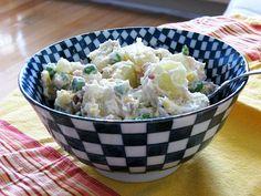 Potato Salad with Peas and Corn