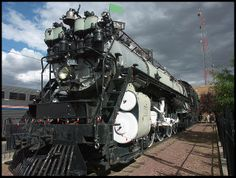 Steam locomotive - Havre, Montana by sjb4photos, via Flickr