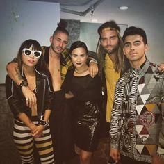 Demi Lovato & DNCE 2016 w. Joe Jonas