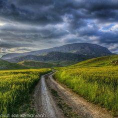 Sarpolzahab in the Province Kirmaşan, western Iran.